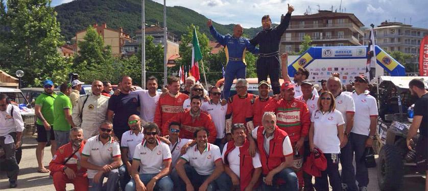 Grande successo per la 4° edizione del Rally Greece Off Road. Prima auto sul podio con una vettura T2