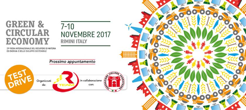 RTeam sarà presente a Ecomondo a Rimini dal 7 al 10 novembre: test drive di auto ecosostenibili, organizzati in collaborazione con la FIF-Federazione Italiana Fuoristrada.