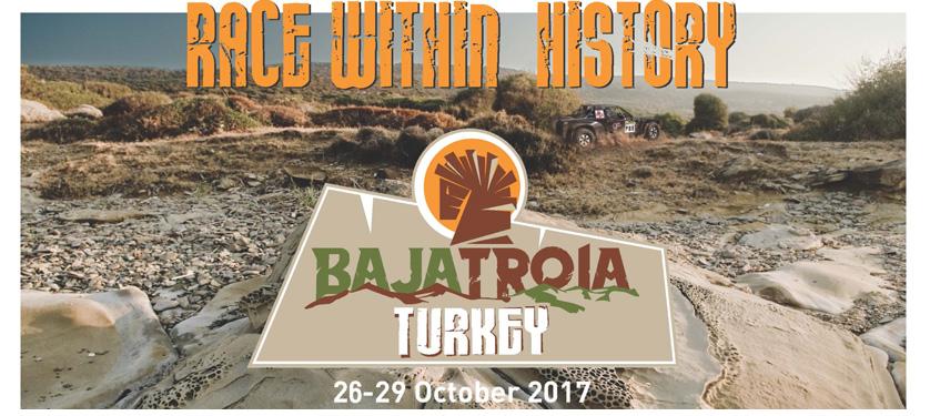 1° BAJA TROIA TURKEY Dal 26 al 29 ottobre 2017 si svolgerà la prima edizione della Baja in Turchia tra luoghi suggestivi e più di 500 km di Speciali