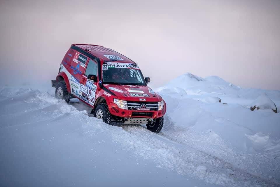 L'avventura di R Team Ralliart Offroad Italy al Baja Russia Northern Forest 2021