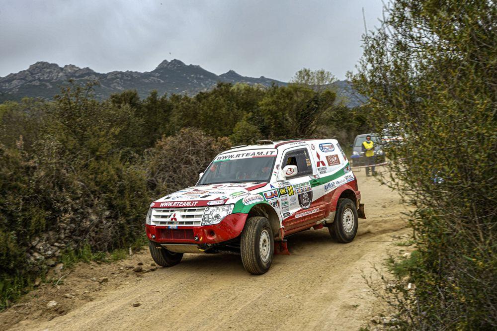 Rickler-Dominella tengono alta la bandiera di R Team Ralliart Offroad Italy al Baja Vermentino