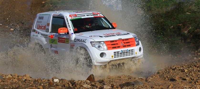 RalliArt Off Road Italy alla Baja Portalegre con 3 vetture. Il team Mitsubishi Italia si conferma tra i più forti nella categoria T2 mondiale